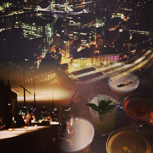 Shard Cocktails